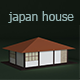 Low Poly Japan House - 3DOcean Item for Sale