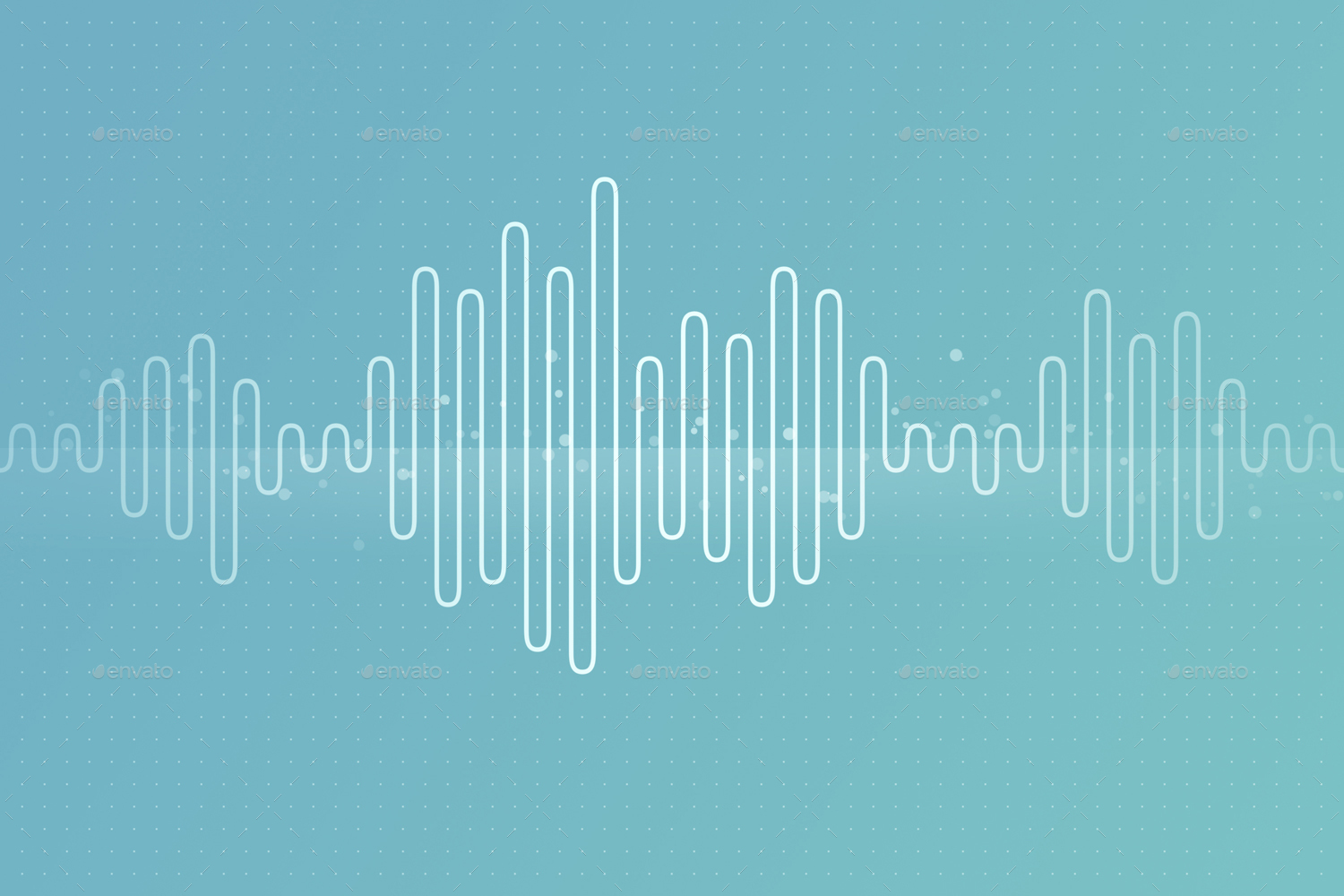 sound wave backgrounds by genett