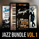 Jazz Flyer / Poster Bundle Vol.1 - GraphicRiver Item for Sale