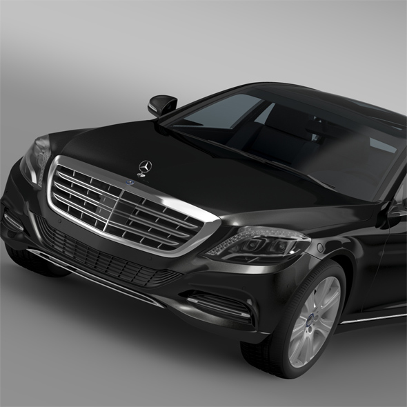 Mercedes Maybach Guard S600 X222 2016 - 3DOcean Item for Sale