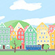 Hand-drawn Cartoon Town - VideoHive Item for Sale