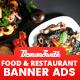 Food & Restaurant Banners HTML5 - Google Web Designer - CodeCanyon Item for Sale