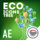 Ecological Icons Tree - VideoHive Item for Sale