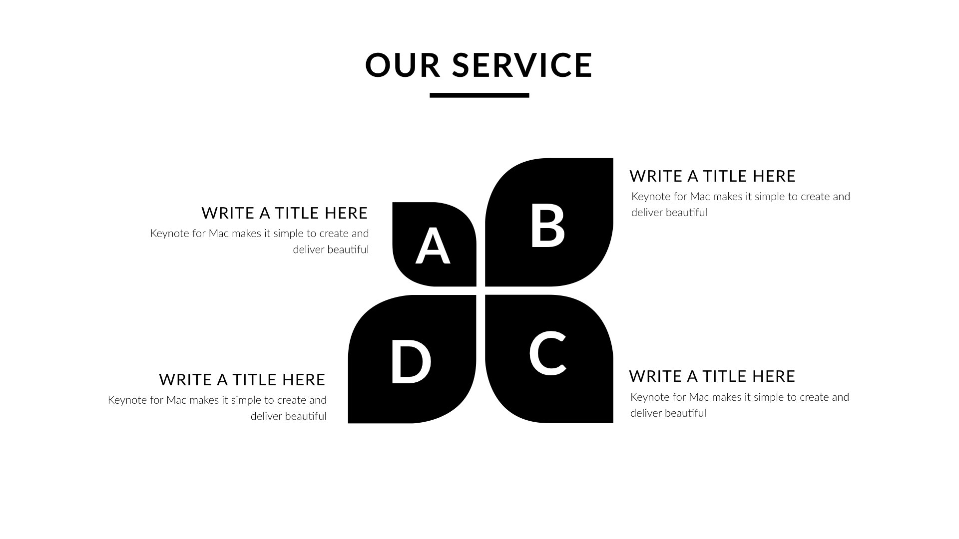 Black white creative clean powerpoint presentation by 5yue black white creative clean powerpoint presentation toneelgroepblik Gallery
