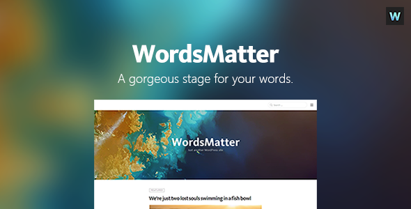 WordsMatter – Designed for Your Writings