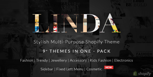 Shopify Fashion Multi purpose Theme – Linda