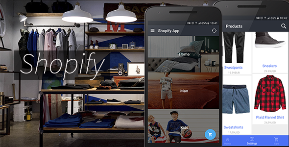 Shopify App - Full Application Android - CodeCanyon Item for Sale