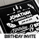 Camping Birthday Invitation Card - GraphicRiver Item for Sale