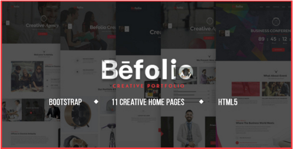 Befolio – Multi-Purpose HTML5 Template