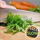 Cutting Fresh Parsley On Wooden Cutting Board - VideoHive Item for Sale