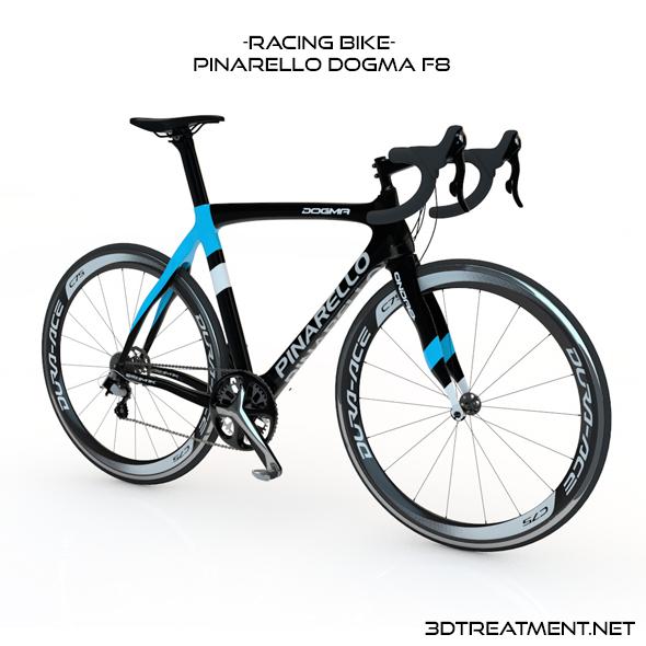 Racing Bike Pinarello Dogma f8 - 3DOcean Item for Sale
