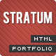 Stratum – HTML single page Template - ThemeForest Item for Sale