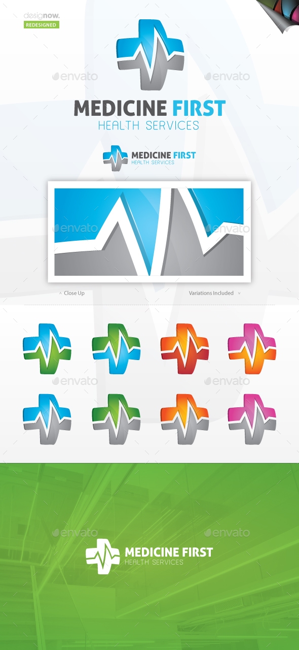 Medicine First Logo - Symbols Logo Templates