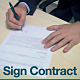 Businessman Signing Contract - VideoHive Item for Sale