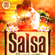 Salsa Flyer Template - GraphicRiver Item for Sale