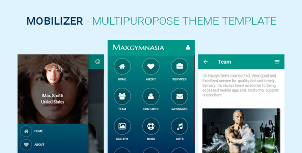 Mobilizer - Multi Purpose Responsive for Mobile & Tablet