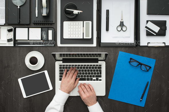 Corporate business office - Stock Photo - Images