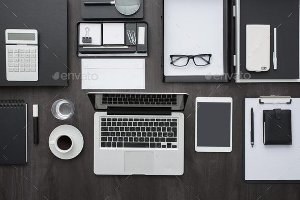 Business desktop - Stock Photo - Images