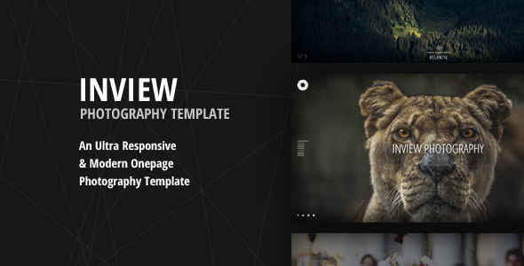 Inview – Ultra Responsive Fullscreen Photography Template