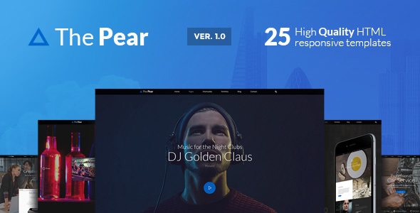 ThePear – Responsive HTML Onepage Template