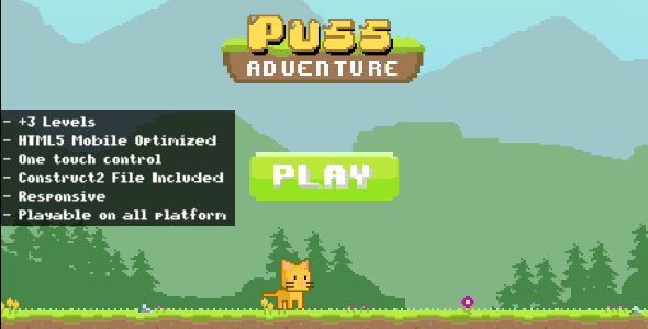 Puss Adventure - CodeCanyon Item for Sale