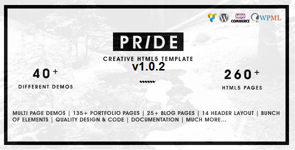 Pride - Creative Multipurpose WordPress Theme - Creative WordPress