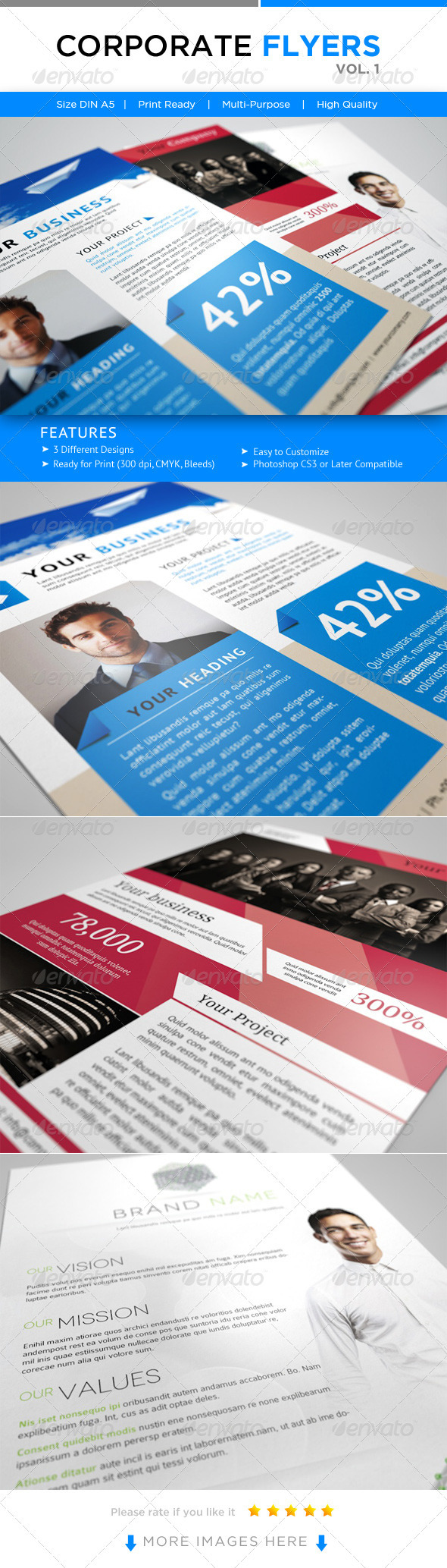 Corporate Flyer's Vol. 1 - Corporate Flyers