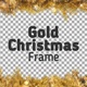 Gold Christmas Frame - VideoHive Item for Sale