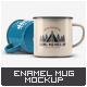 Enamel Mug Mock-Up - GraphicRiver Item for Sale