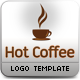 Hot Coffee Logo Template  - GraphicRiver Item for Sale