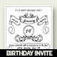 Classic Birthday Invitation Card - GraphicRiver Item for Sale
