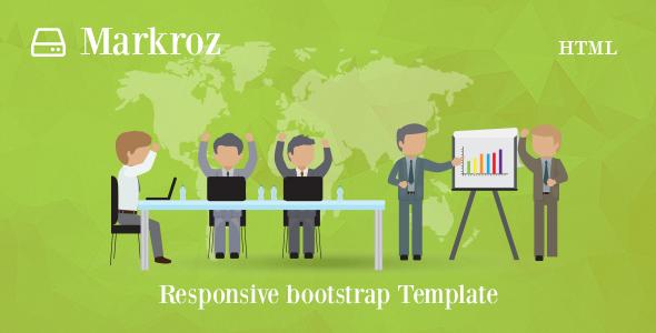 Markroz – Multi-purpose Responsive Bootstrap Template