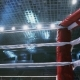 Flight Along Ropes Of a Boxing Ring In The Sports Arena - VideoHive Item for Sale