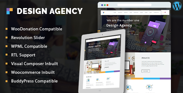 Design Agency – Corporate Business Multi-Purpose WordPress Theme