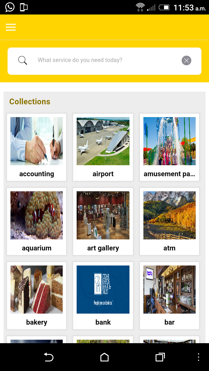 Online Business Directory or Classified Mobile App Script- My Directory App