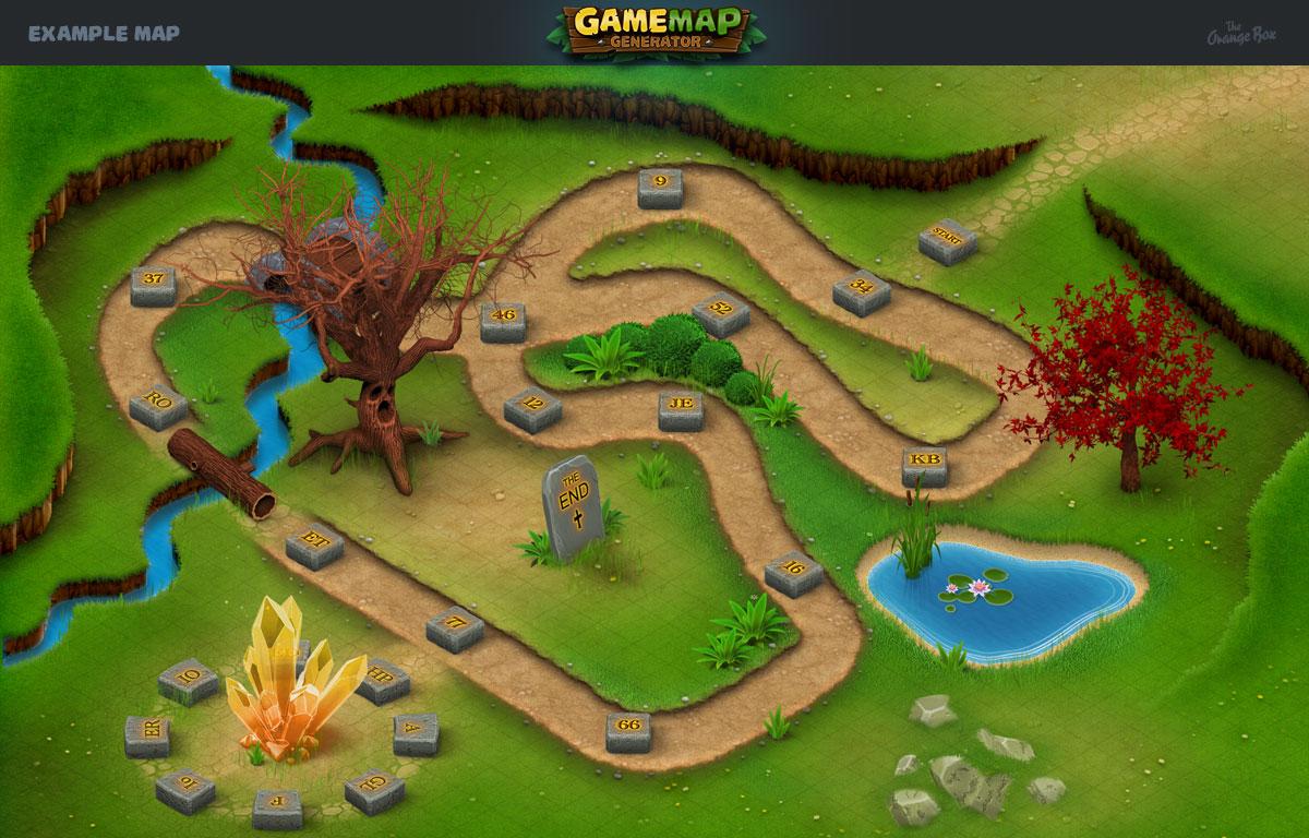 game map generator by orange box