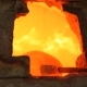 Firing Glass In a Hot Oven - VideoHive Item for Sale