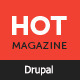Hotmagazine - News & Magazine Drupal Theme Nulled