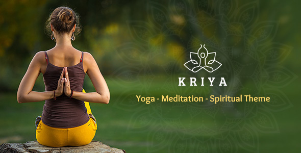 Kriya Yoga – Health & Yoga WordPress Theme