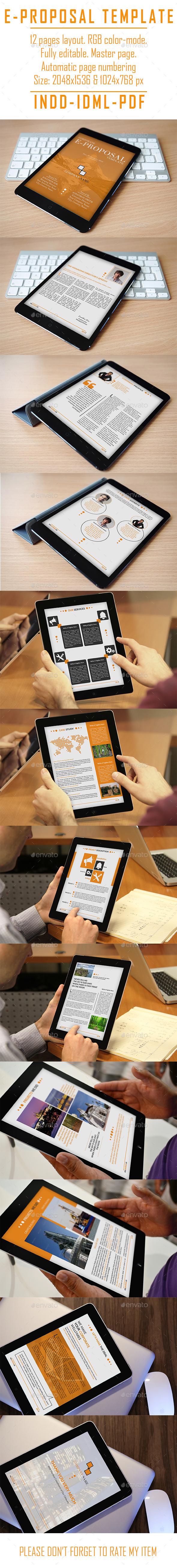Corporate E-Proposal - ePublishing
