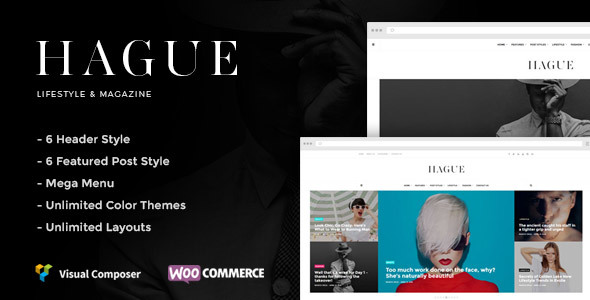 Hague –  Lifestyle & Magazine WordPress Theme