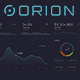 ORION – Sci-Fi Dashboard - GraphicRiver Item for Sale