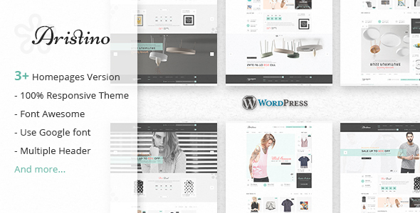 Aristino – Responsive WooCommerce WordPress Theme