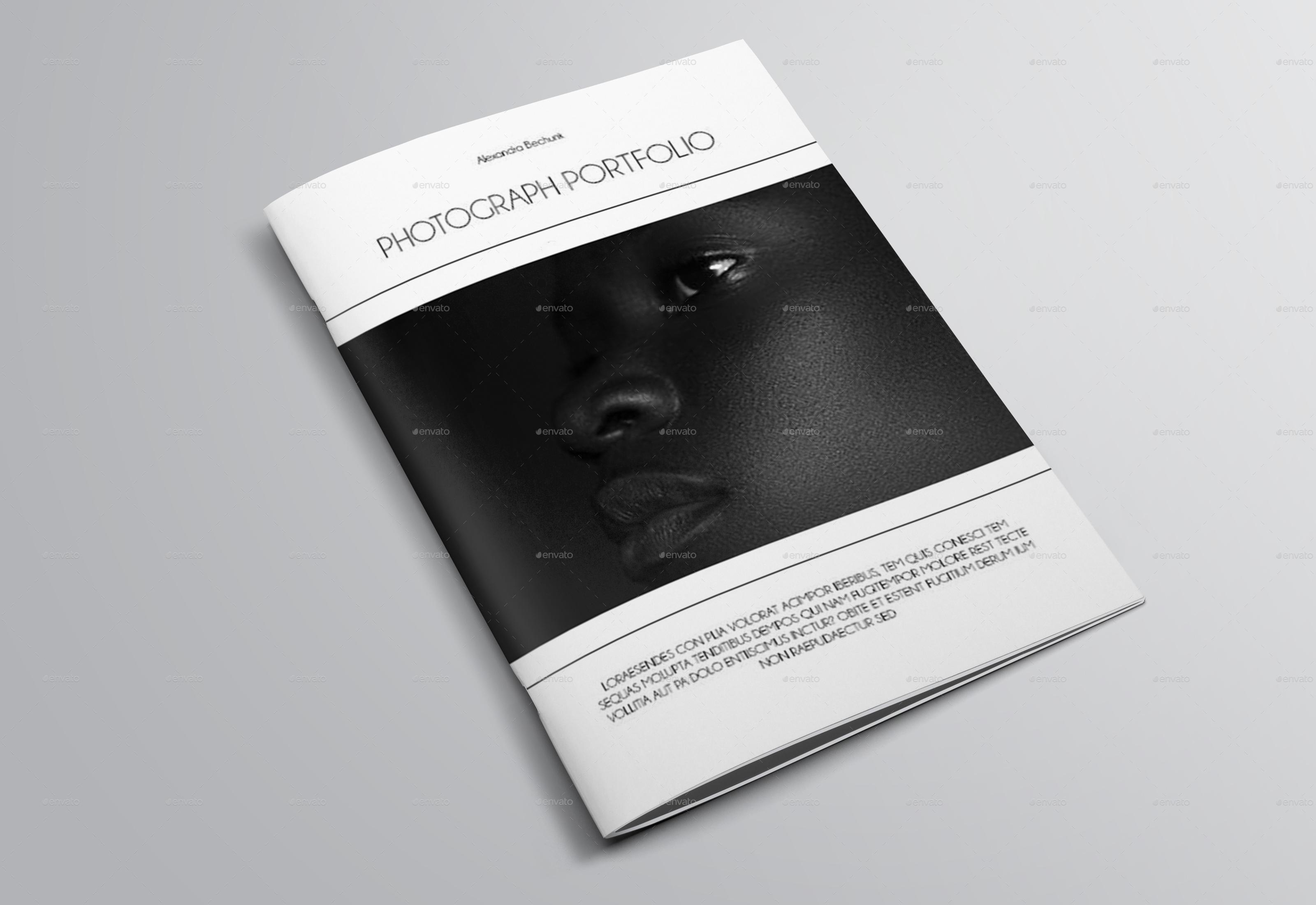 A5 Photography Portfolio by bookrak   GraphicRiver