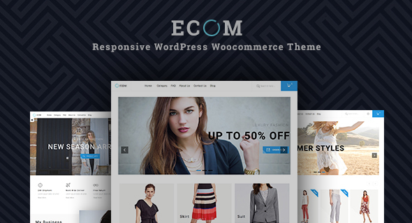 Responsive Woocommerce Theme | ST Ecom