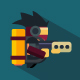 Flat Jetpack - GraphicRiver Item for Sale