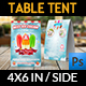 Ice Cream Table Tent Template Vol.3 - GraphicRiver Item for Sale