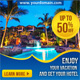 Multipurpose Hotel and Travel Web Ad Banners - GraphicRiver Item for Sale