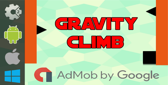 Gravity Climb - HTML5 Game + Admob (Construct 2 - CAPX) - CodeCanyon Item for Sale