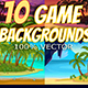 10 2d Game Backgrounds  - GraphicRiver Item for Sale
